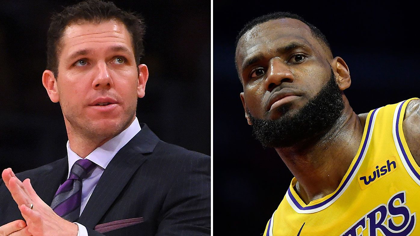 Los Angeles Lakers coach Luke Walton reportedly involved in 'emotionally-charged' exchange with veterans