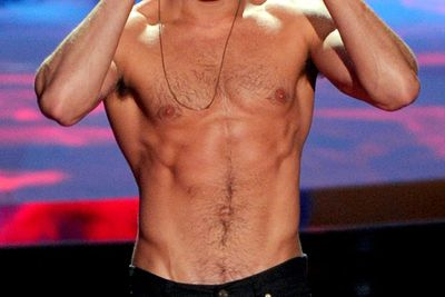 The best part of this year's MTV Movie Awards was this star's shirtless onstage moment.