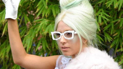 Who wants to win one of Lady Gaga's hair extensions?