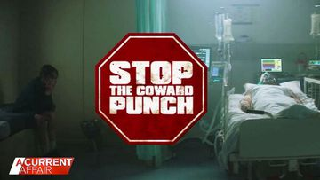 First look at boxing champion's coward punch ad campaign