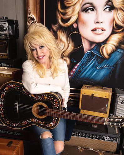 Dolly Parton, Instagram, photo