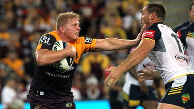 Mr Hannant is the brother of Broncos and Origin star Ben Hannant. (AAP)