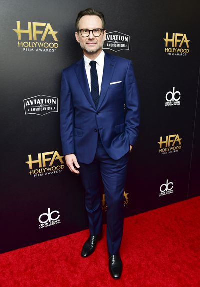 Christian Slater at the 22nd Annual Hollywood Film Awards, November, 2018