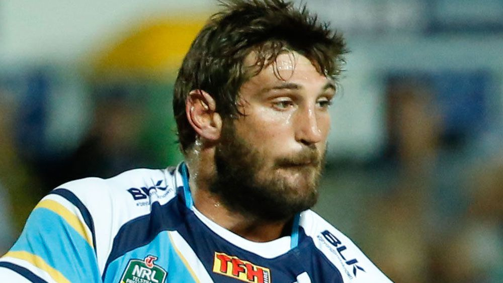 Dave Taylor is reportedly training well with Canberra as he looks to resurrect his NRL career. (AAP)