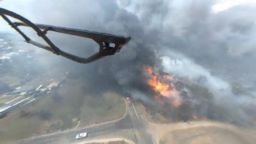 Kurri Kurri and Camberwell fires. (Twitter/ NSW RFS)