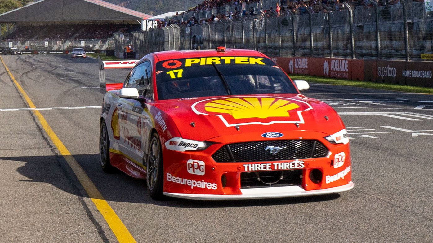 Scott McLaughlin in action in Adelaide earlier this year.