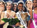 Zozibini Tunzi, of South Africa, is crowned Miss Universe 2019