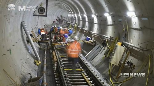 Work on the new underground railway from Sydney's CBD to Parramatta is expected to start at the end of 2020.