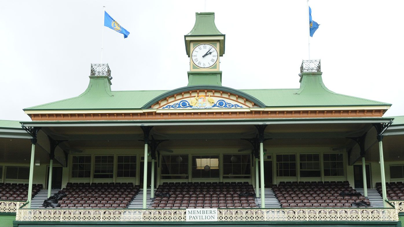 Sydney Cricket Ground members stand