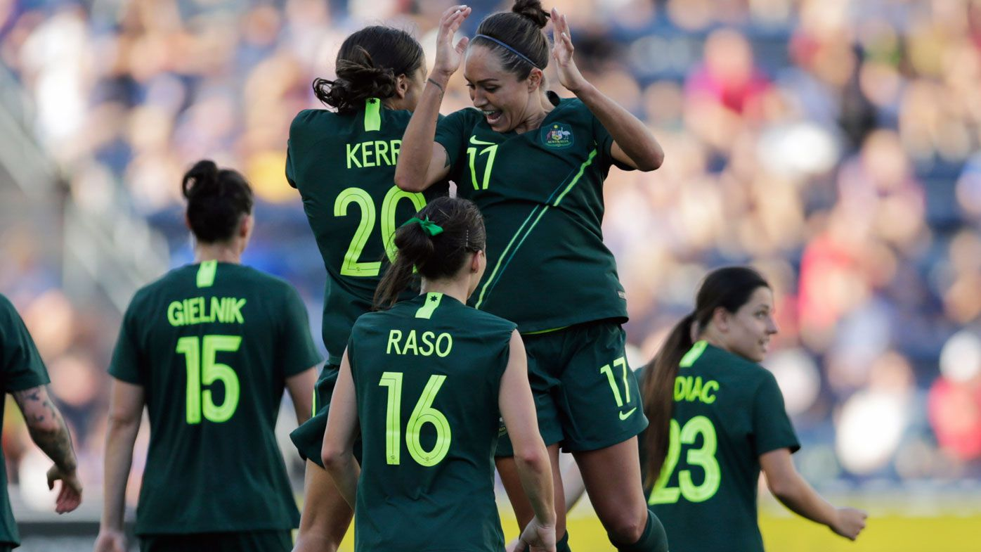 Matildas beat Japan but lose trophy