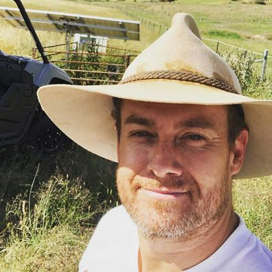 Grant Denyer's wild experience on board a plane to Perth.