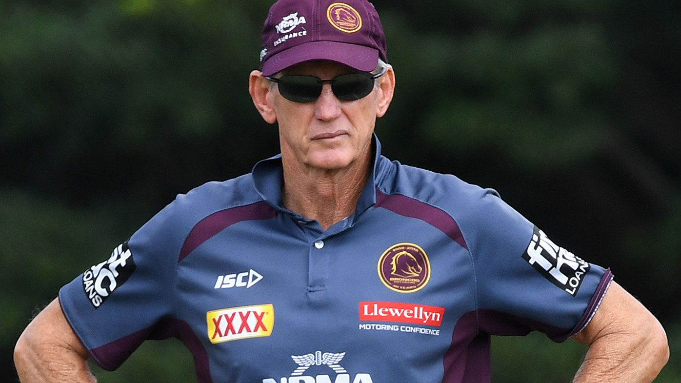 Brisbane Broncos coach Wayne Bennett to reportedly tell club back me or sack me over Craig Bellamy speculation