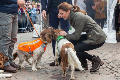 The Duke and Duchess of Cambridge visit Cumbria in Lake District
