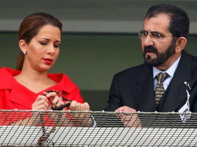 Princess Haya and Sheikh Mohammed bin Rashid Al Maktoum