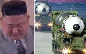 Kim Jong-un sheds tear in rare apology to North Korean people