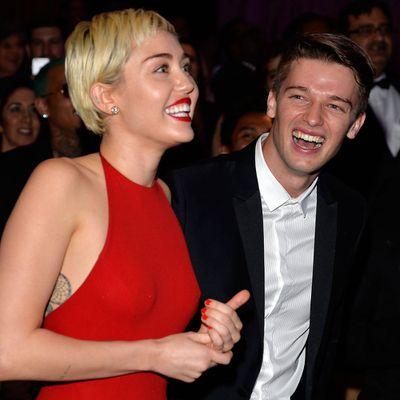Miley Cyrus is still following ex Patrick Schwarzenegger, but not Liam Hemsworth