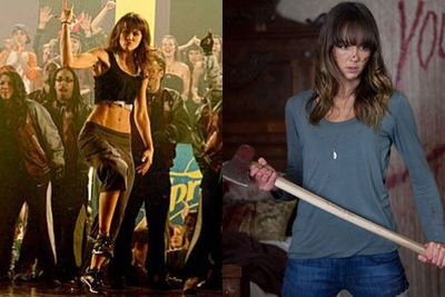 Sharni Vinson did a few bit-parts on American TV after leaving <i>Home and Away</I> in 2008, but her biggest Hollywood roles so far have been for dance flick <i>Step Up 3D</i> in 2010 and horror film <i>You're Next</i> in 2011.<br/><br/>Left: <i>Step Up 3D</i> / Universal Pictures. Right: <i>You're Next</i> / Lionsgate.