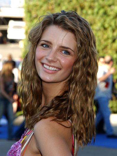 """Mischa Barton of """"The O.C."""" during 2003 Teen Choice Awards - Arrivals at Universal Amphitheatre in Universal City, California, United States."""