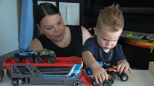 Eli Morgan toddler defies cancer diagnosis