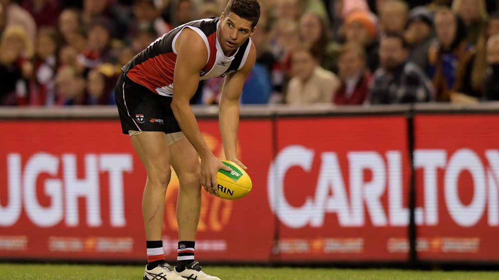 St Kilda veteran Leigh Montagna has retired after 287 matches. (AAP)