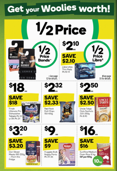 Even Woolies has some excellent non-food bargains this week.