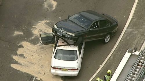 Three cars collide at Cartwright in Sydney's south-west