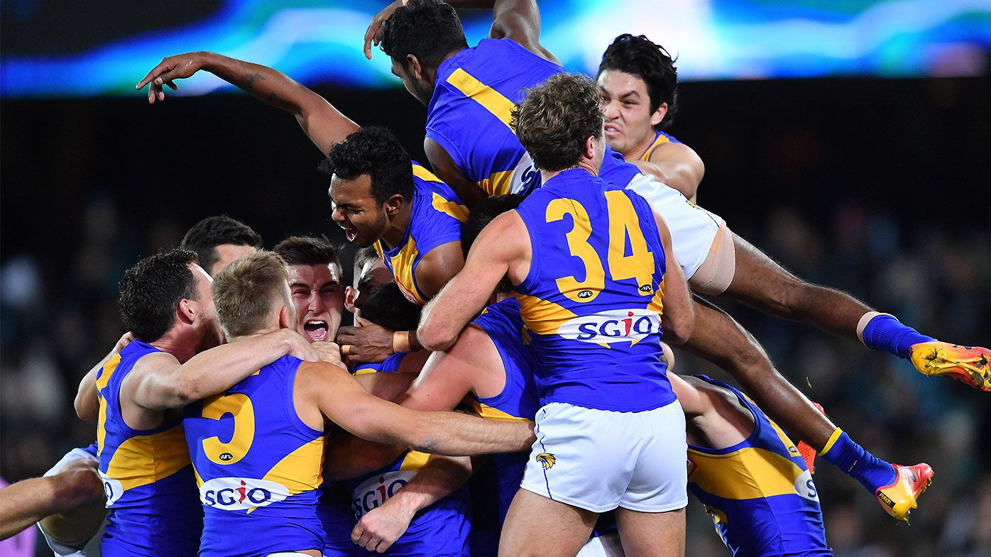 Jeremy McGovern goal delivers West Coast Eagles after-siren win over Port Adelaide