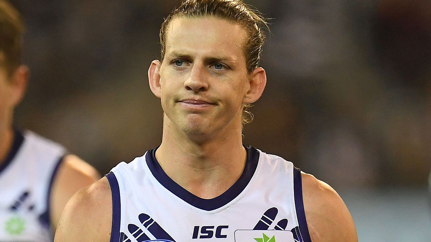 Fremantle Dockers star Nat Fyfe regrets promise to teammate he had to break