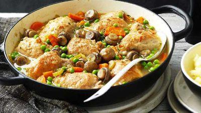 "21.)<a href=""https://kitchen.nine.com.au/2017/03/29/11/26/one-pot-chicken-and-mushroom-casserole"" target=""_top"" draggable=""false"">One-pot chicken and mushroom casserole</a>"