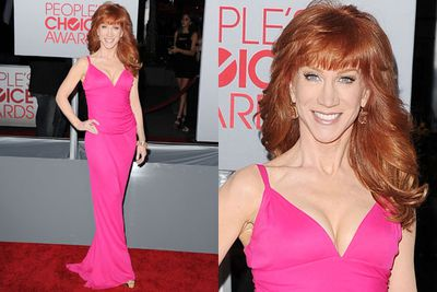 Kathy Griffin won't let age get in the way of colour!
