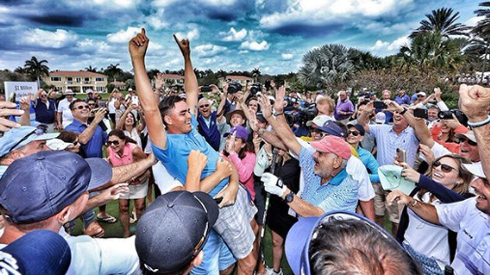 Fowler sinks $1 million hole-in-one