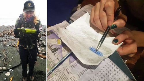Aussie ranger finds mystery message in a bottle