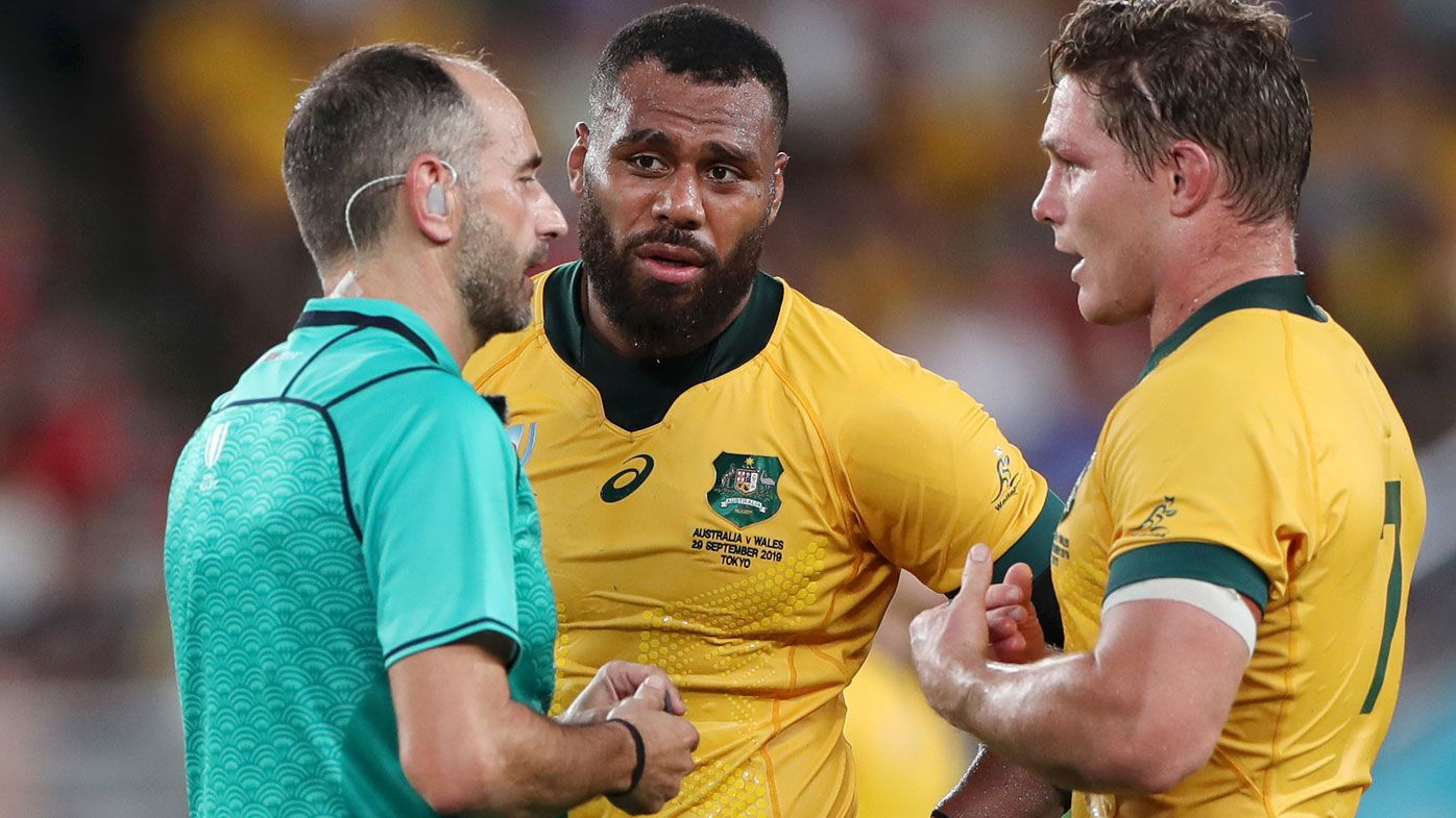 Rugby World Cup: Penalised Samu Kerevi says rugby going soft