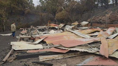 Adelaide Hills Council say two-thirds of residents who were impacted have lodged applications to rebuild.