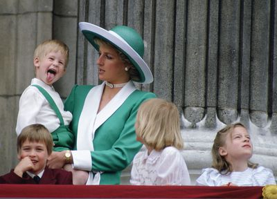 Prince Harry steals the show, 1988
