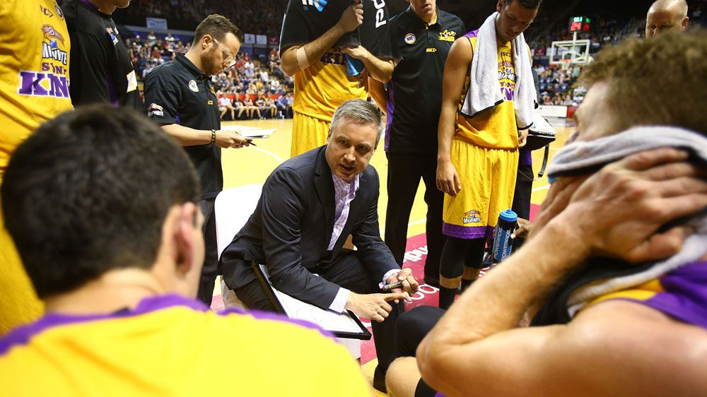 Damian Cotter, who was sacked as coach of Sydney Kings. (Getty)