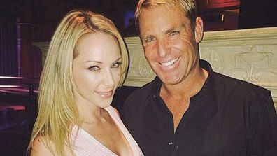 """<br/><br/>They only made it official earlier this month, but lovebirds <b>Shane Warne</b> and <b>Emily Scott</b> are already posting love-up holiday Insta-snaps together...<br/><br/>""""Club 1923 burlesque with @shanewarne23,"""" the 30-year-old <i>Playboy</i> model wrote alongside her Insta-snap. """"#vegas #vodka #vixens""""<br/><br/>Scroll through to see more lovey-dovey Insta-snaps of the cute couple...<br/><br/>Images: Instagram"""