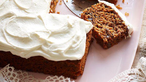 Julie's carrot cake