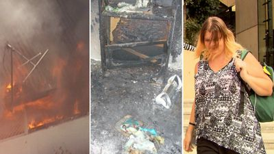 Mum jailed after burning down three homes for insurance