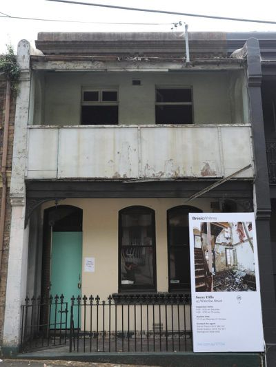 <strong>43 Waterloo St, Surry Hills, Sydney, sold: $1.6 million</strong>