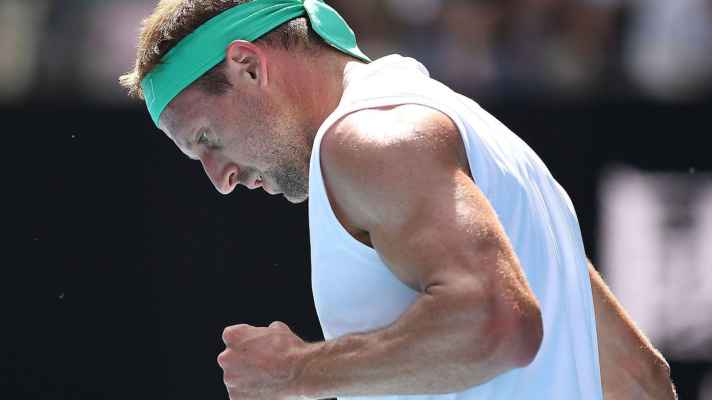 US tennis star Tennys Sandgren allowed onto Australian Open flight despite testing positive for COVID-19
