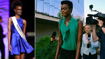 Adau Mornyang is a model and former Miss World Australia contestant.