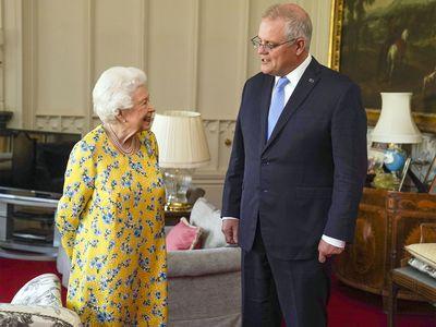 Scott Morrison & the Queen
