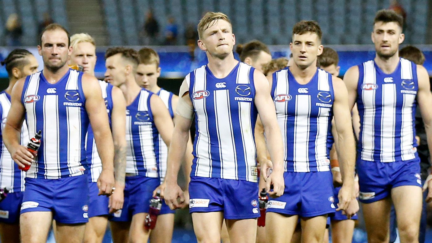 North Melbourne ripped over alarming final-term collapse against Adelaide Crows