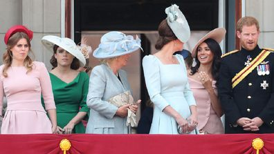 Meghan Markle with royal family