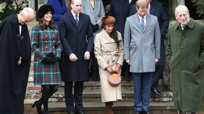 Meghan Markle spends her first Christmas with Prince Harry and the Royal family, December 25, 2017