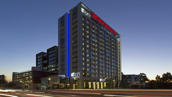 Aloft Perth, hotel, building