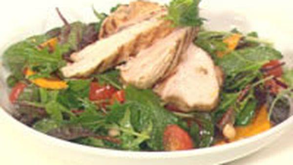 Cumin chicken salad