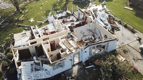 Homes in Celina, Ohio were torn apart by Monday nights severe storms with warnings now issued to New York City to brace for similar weather.