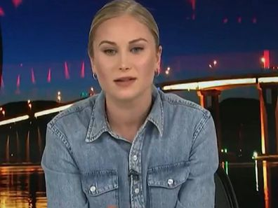 Grace Tame hits out at Scott Morrison on ABC's Q+A